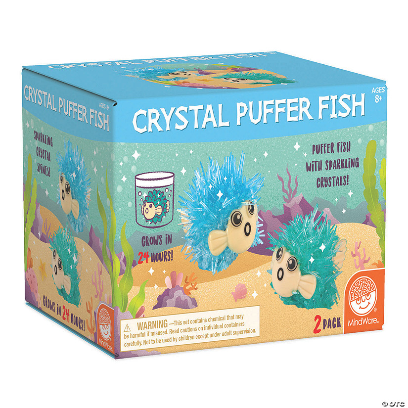 Crystal Growing Kits: Pufferfish Image Thumbnail