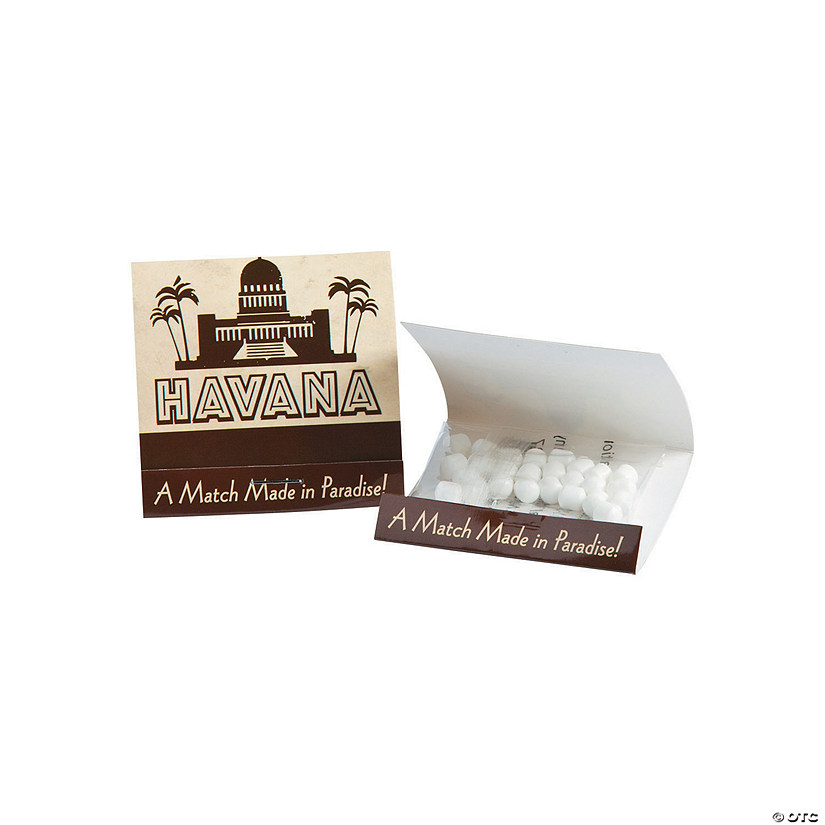 Cuban Party Matchbook Mints13774573