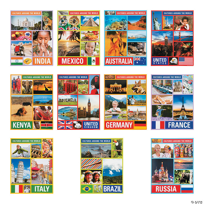 Cultures Around the World Posters Image Thumbnail