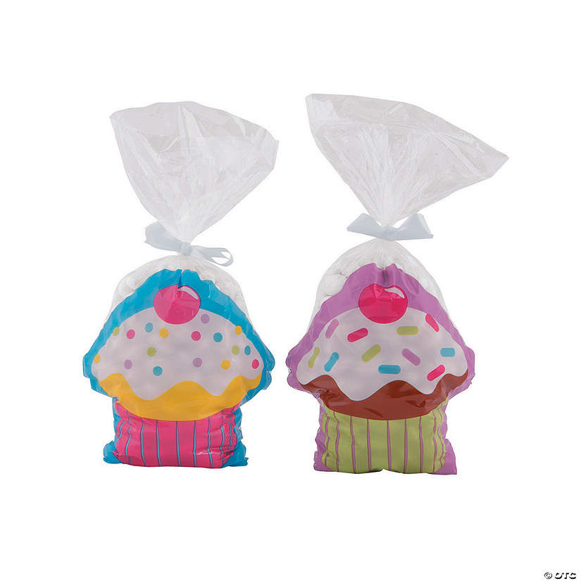 Cupcake Party Cellophane Bags Audio Thumbnail