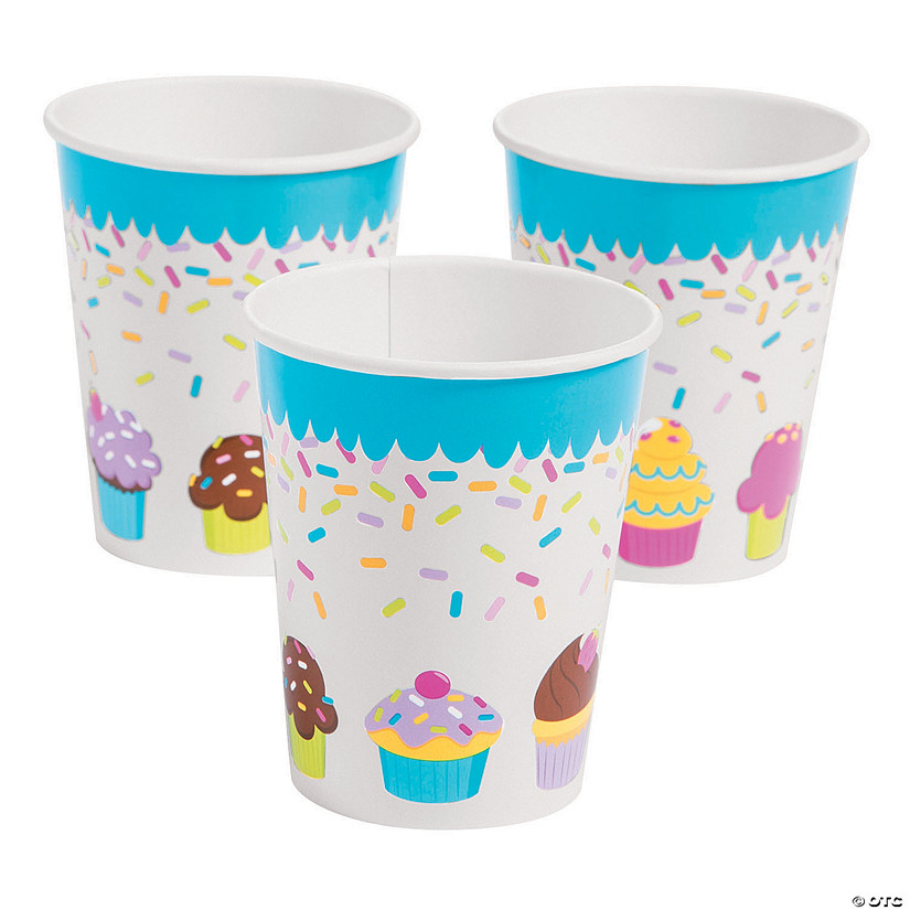 Cupcake Party Paper Cups Audio Thumbnail