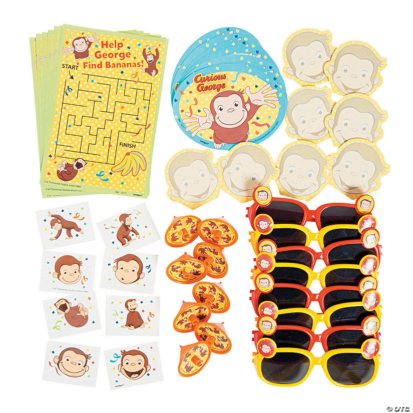 Curious George<sup>® </sup>Favor Pack