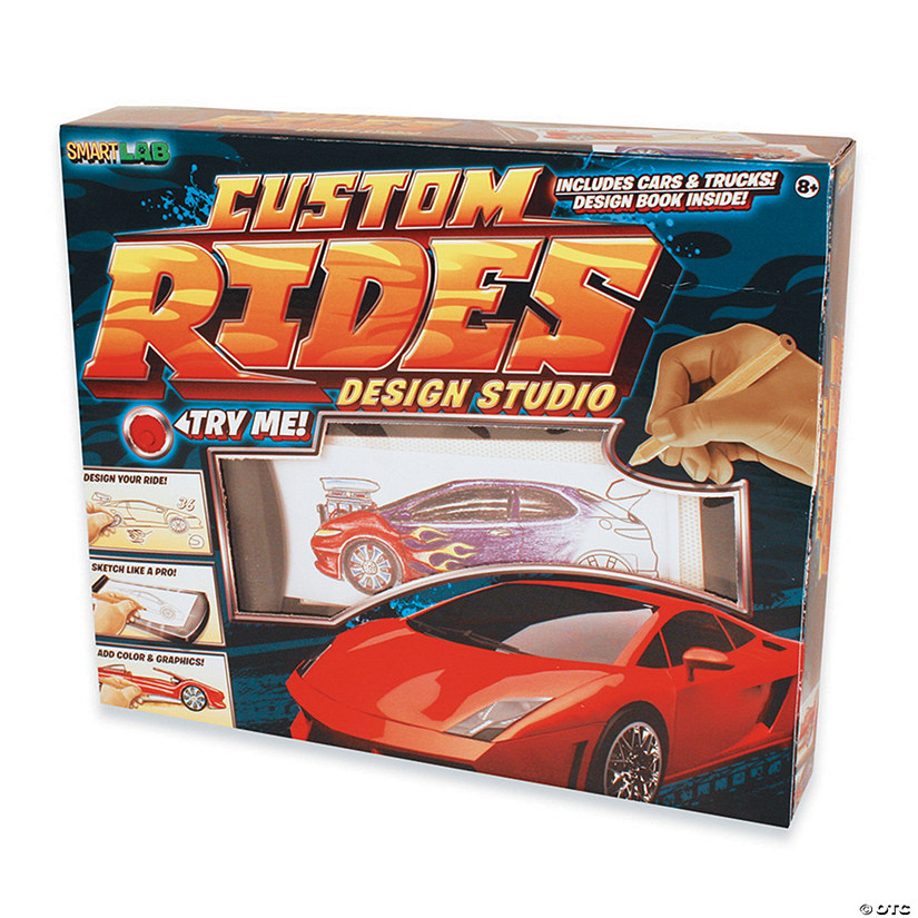 Custom Rides Car Design Studio Audio Thumbnail
