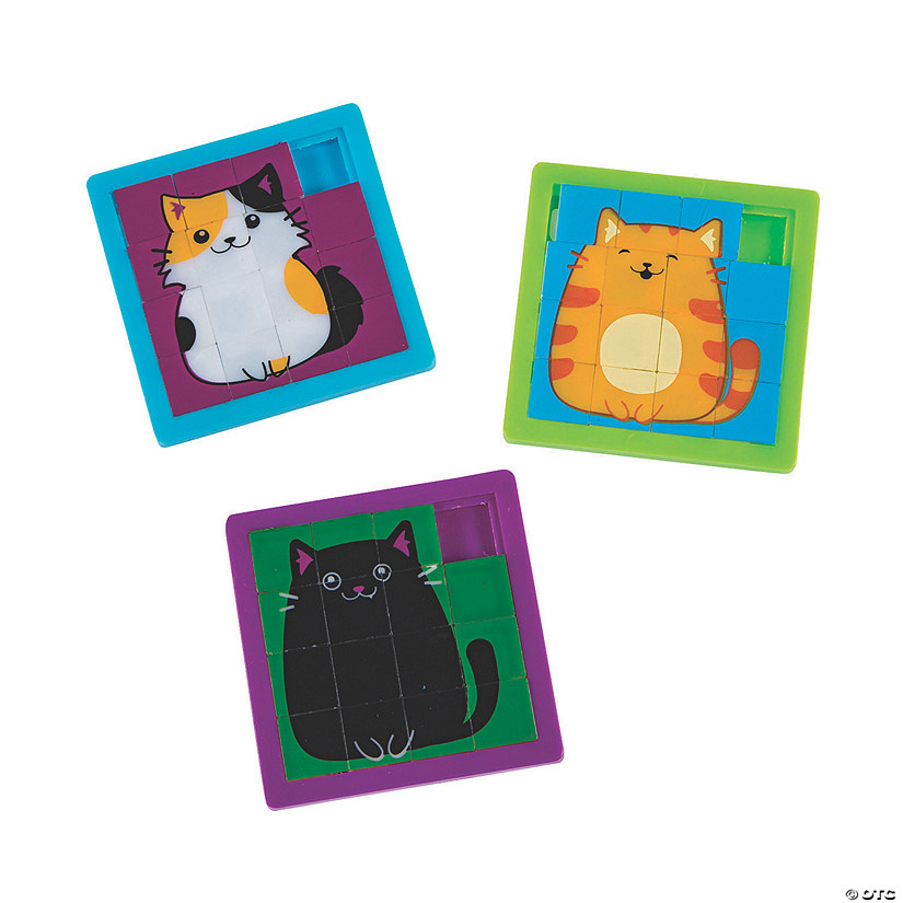 Cute Cat Slide Puzzles Audio Thumbnail