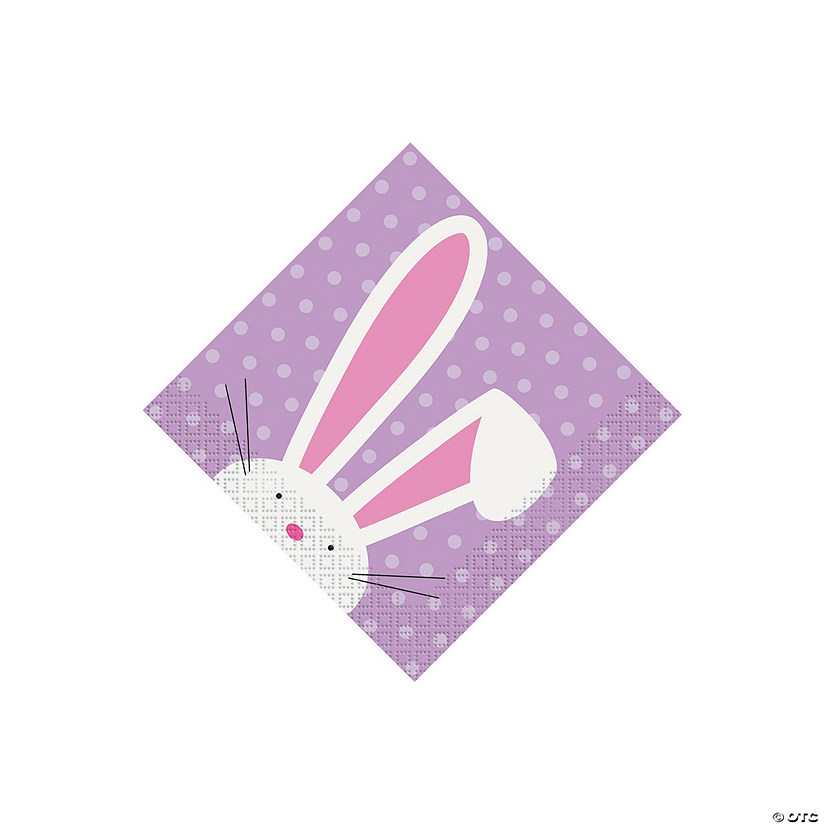 Cute Easter Beverage Paper Napkins