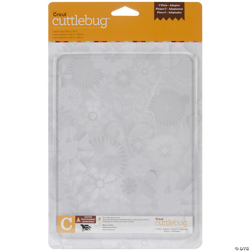 "Cuttlebug Adapter Plate C-5.875""X7.75"""