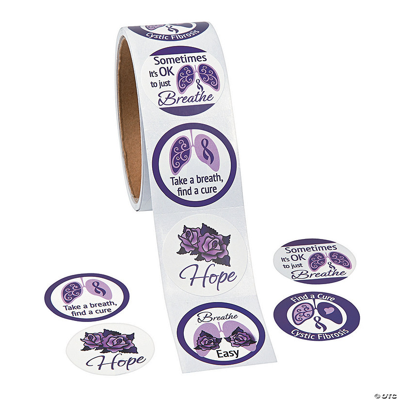 Cystic Fibrosis Awareness Stickers