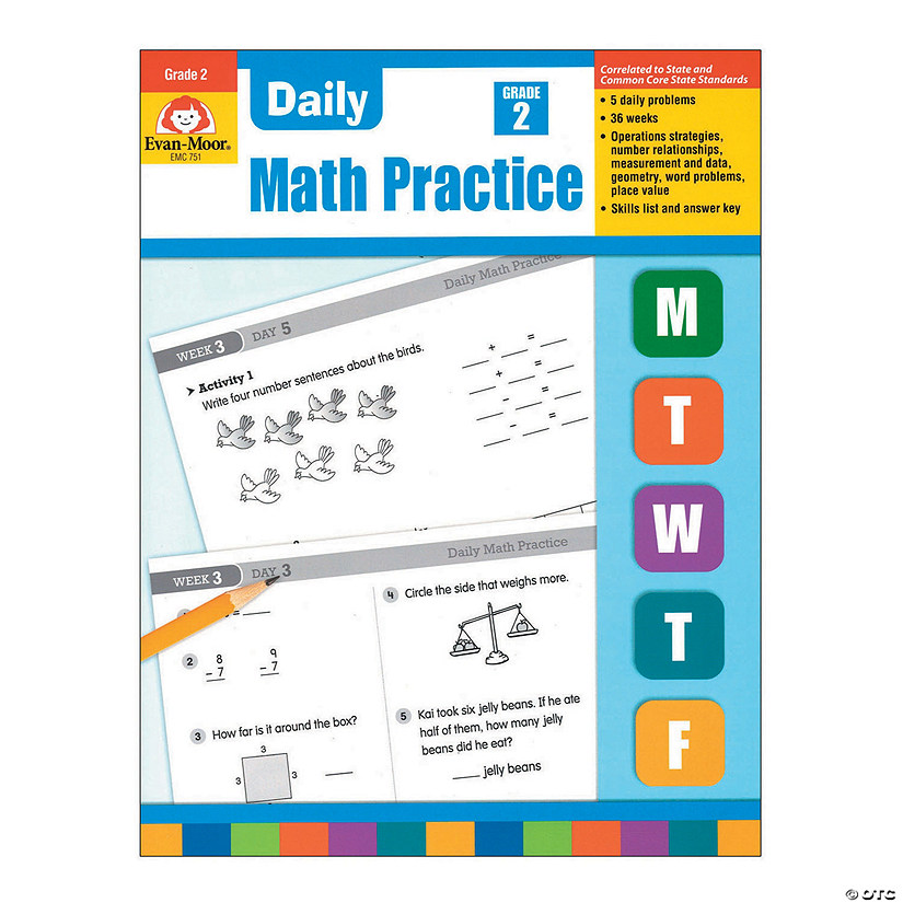 Daily Common Core Math Practice - Teacher's Edition, Grade 2