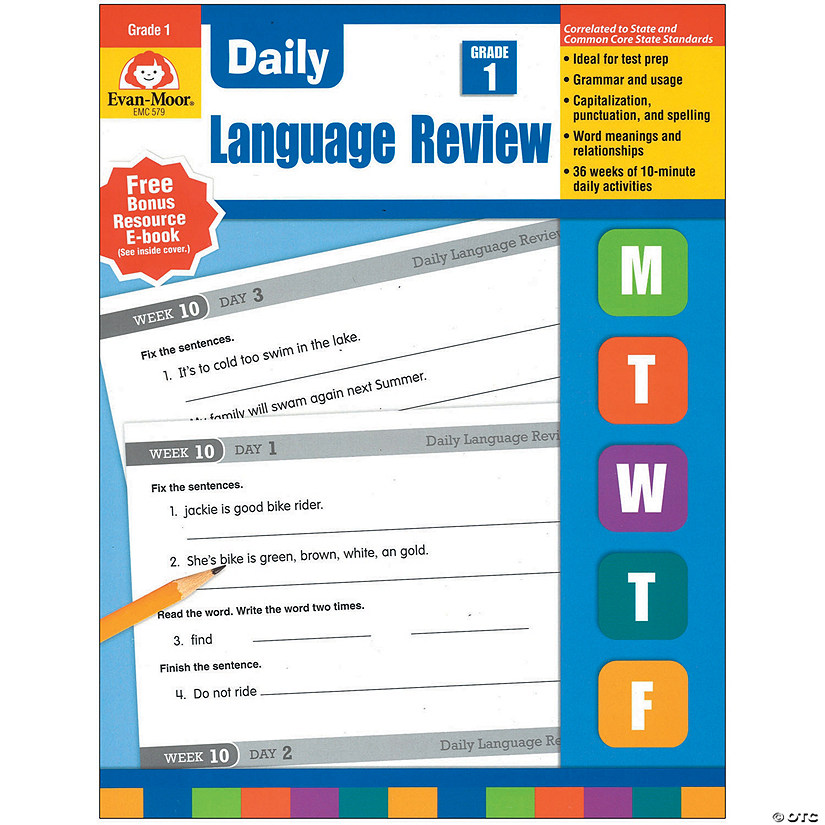 Daily Language Review Gr 1 Audio Thumbnail