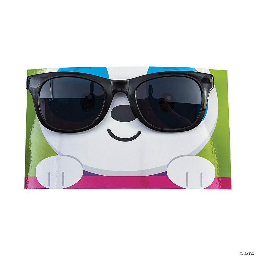 Dancing Animal Sunglasses with Valentine's Day Card Audio Thumbnail