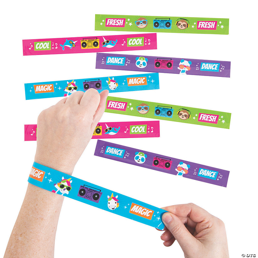 Dancing Animals Slap Bracelets Audio Thumbnail