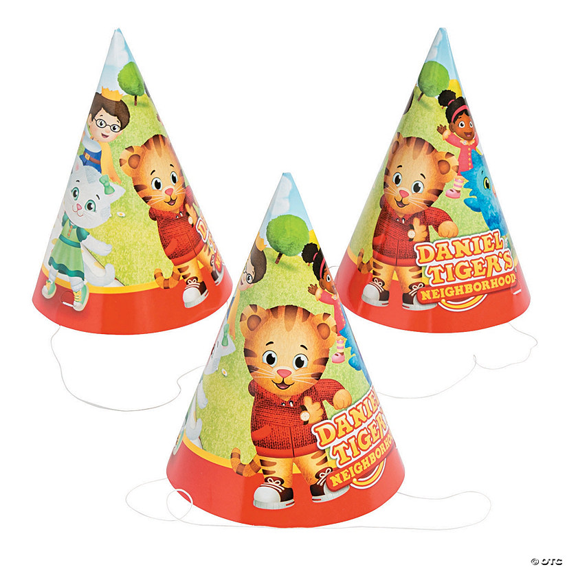 Daniel Tiger's Neighborhood™ Cone Hats