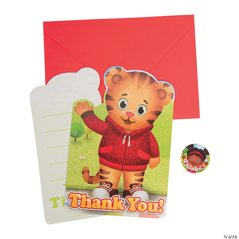 Daniel Tiger's Neighborhood™ Thank You Cards