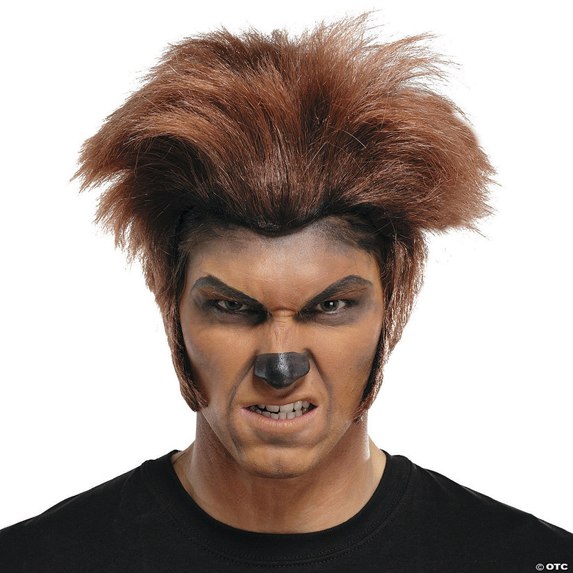 Dark Brown Wolfman Wig