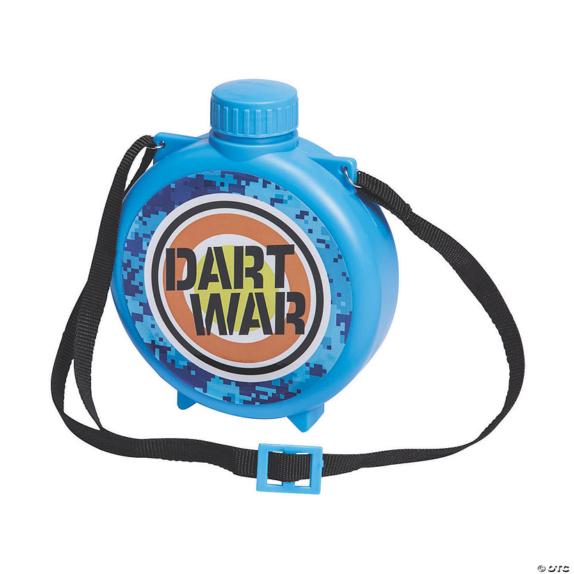 Dart Battle Party Plastic Canteens Image Thumbnail