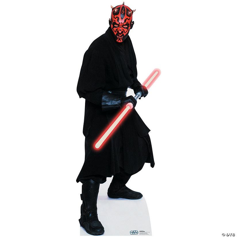 darth maul star wars cardboard stand up