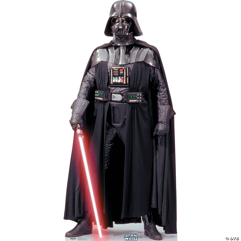 Darth Vader Talking Cardboard Stand-Up Audio Thumbnail