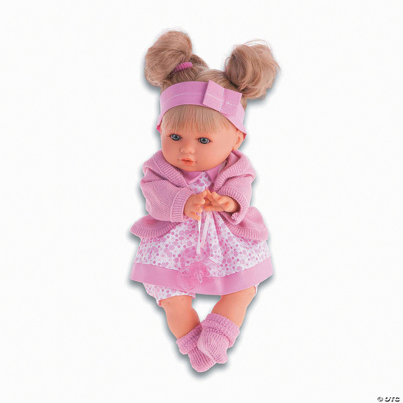 Dato Baby Girl Doll With Pink Onesie Audio Thumbnail
