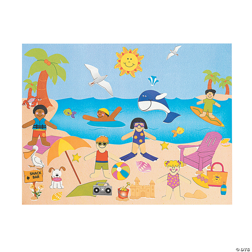 Day At the Beach Sticker Scenes Audio Thumbnail
