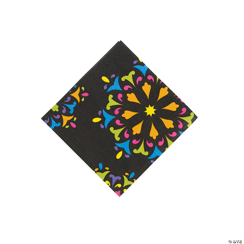 Day of The Dead Beverage Napkins Image Thumbnail