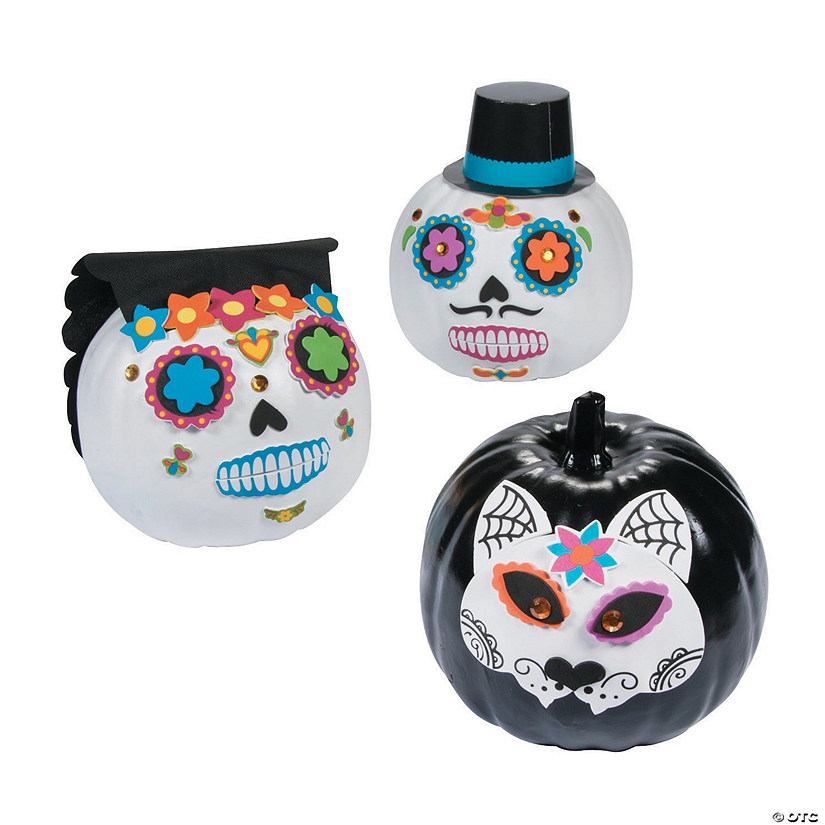 Day of the Dead Pumpkin Decorating Kit Audio Thumbnail