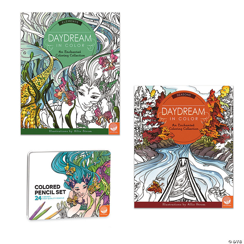 Daydream in Color: Set of 2 with 24 Colored Pencils Image Thumbnail