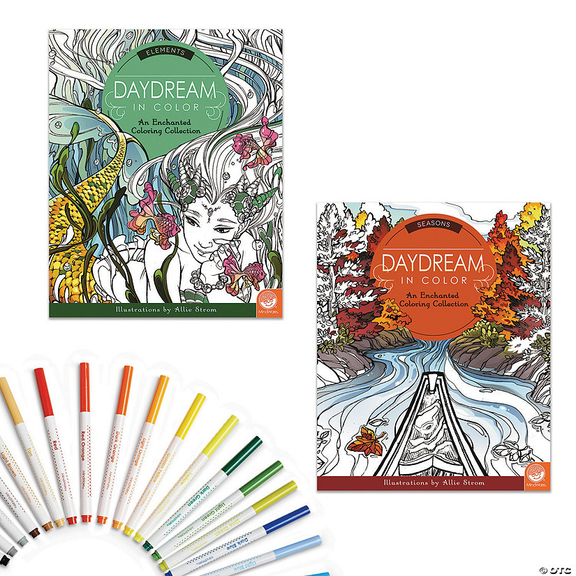 Daydream in Color: Set of 2 with 24 FREE Markers Audio Thumbnail