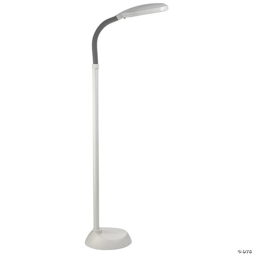 Daylight Naturalight Hobby Floor Lamp, White