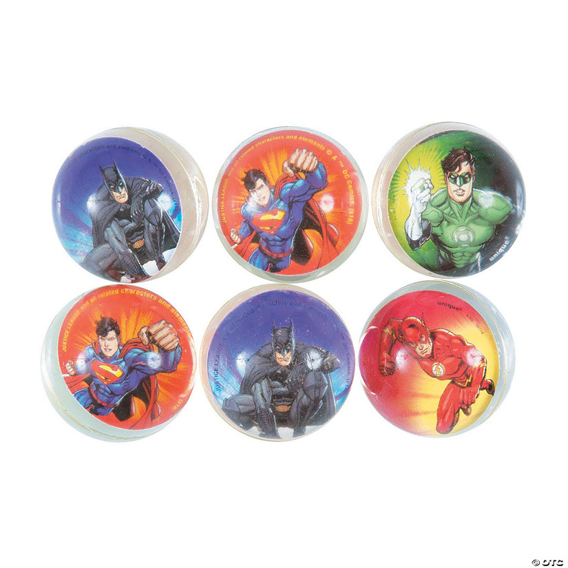 DC Comics Justice League™ Bouncing Balls Image Thumbnail