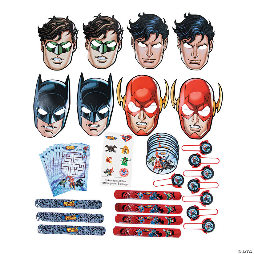 DC Comics Justice League™ Favor Pack Image Thumbnail