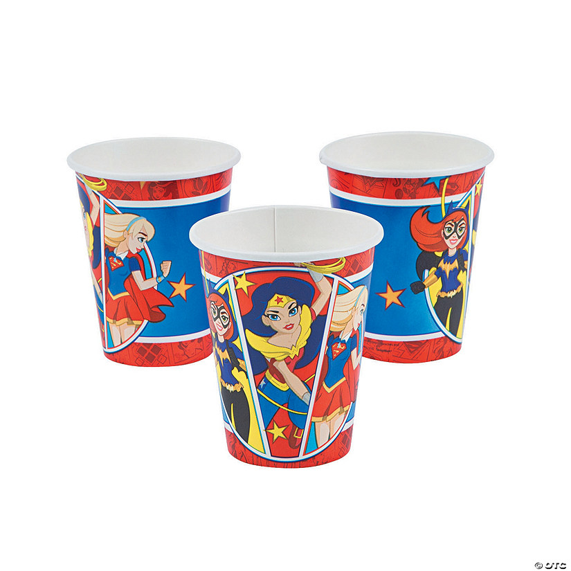 DC™ Superhero Girls Paper Cups Audio Thumbnail