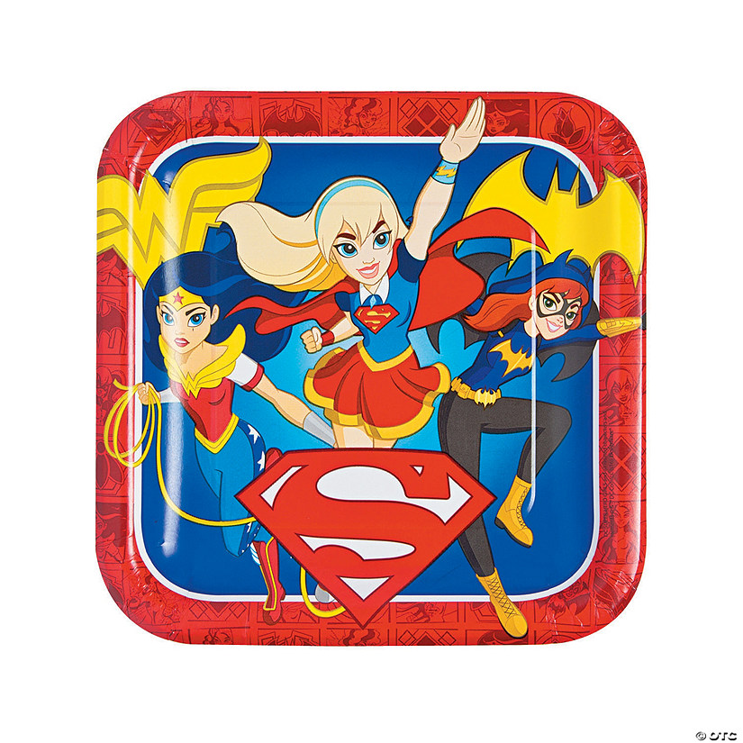 DC™ Superhero Girls Paper Dinner Plates Audio Thumbnail