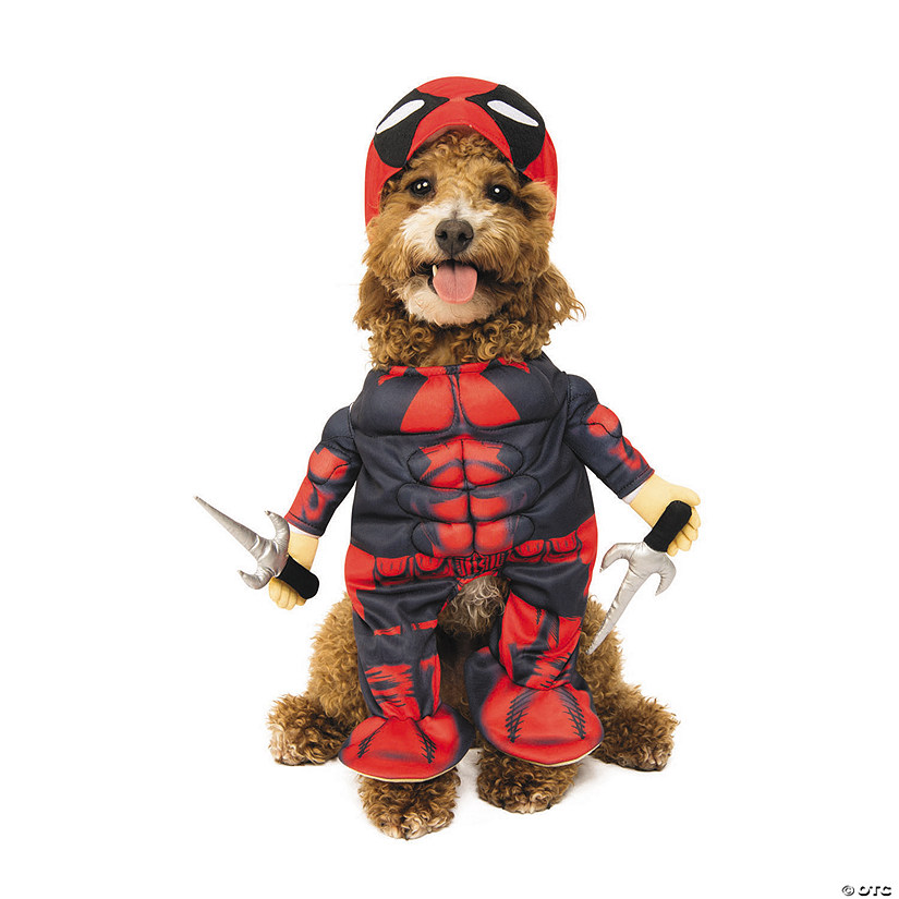 Deadpool Dog Costume Image Thumbnail