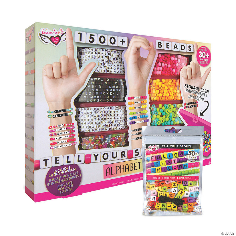 Deluxe Alphabet Bead Set w/ FREE Beads Audio Thumbnail