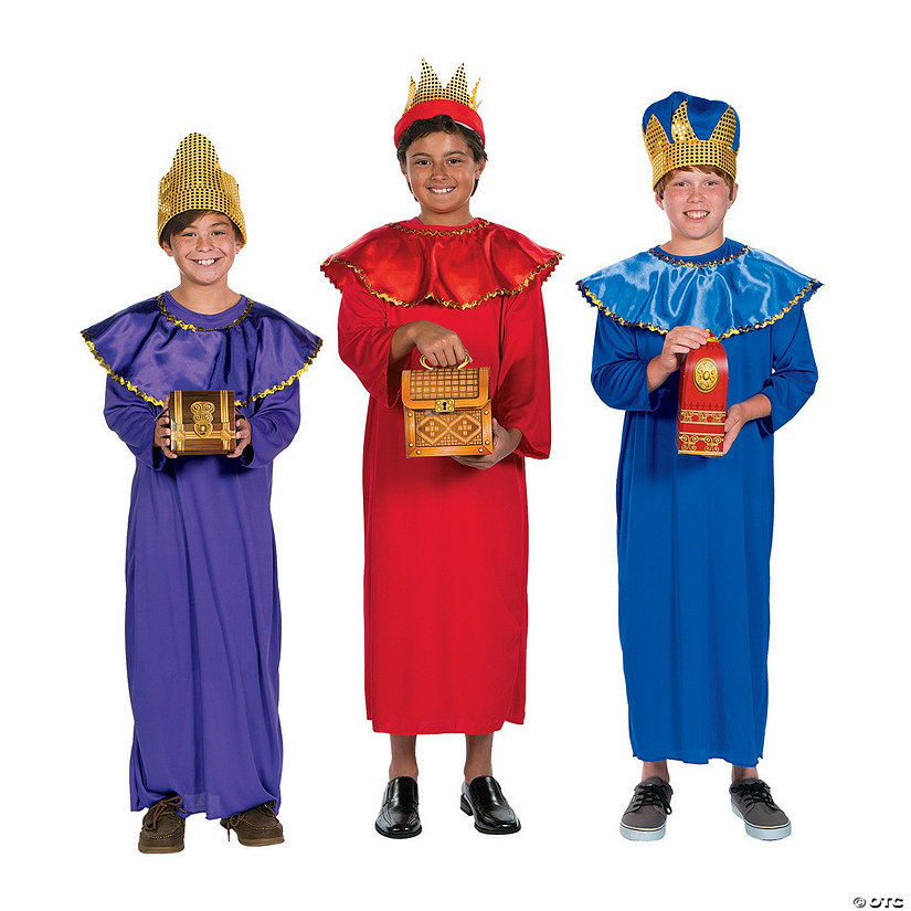 Deluxe Child's Wise Men Costume Kit Audio Thumbnail