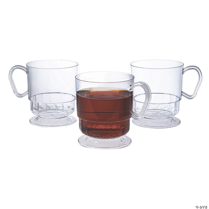 Deluxe Clear Coffee Cups