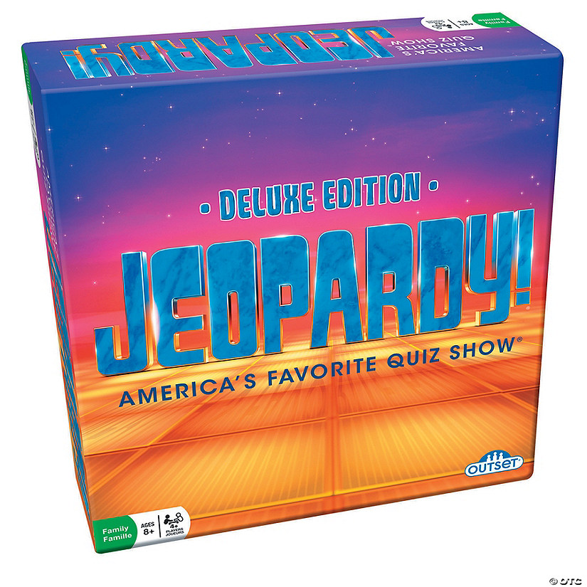 Deluxe Edition Jeopardy! Party Game Image Thumbnail