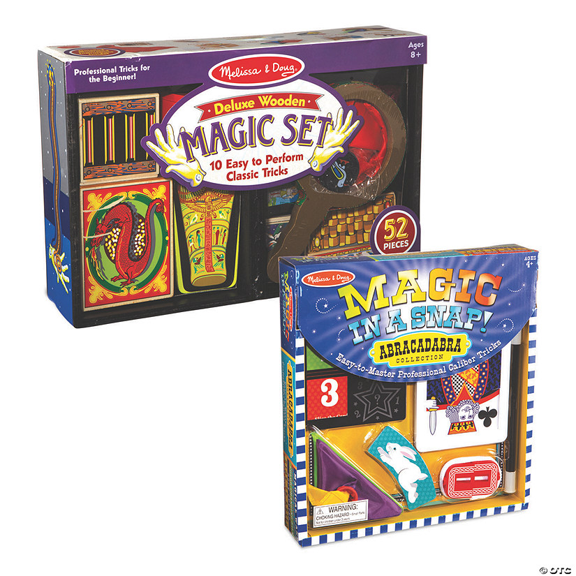 Deluxe Magic and Magic In A Snap Set of 2 Image Thumbnail