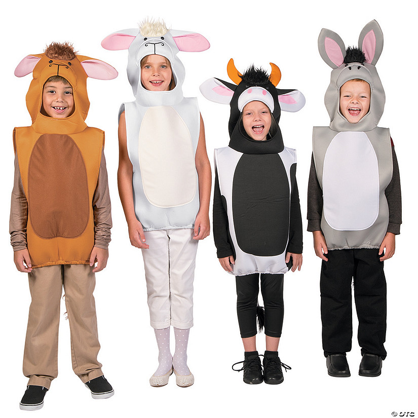 Deluxe Nativity Animal Costume Assortment Audio Thumbnail