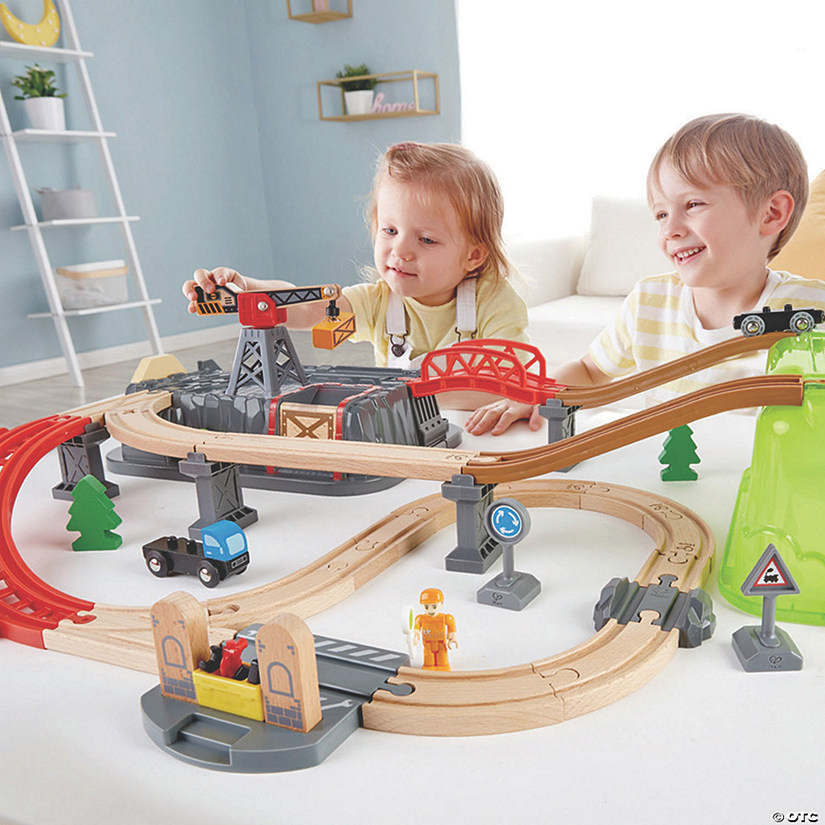 Deluxe Railway Builder Train Set Image Thumbnail