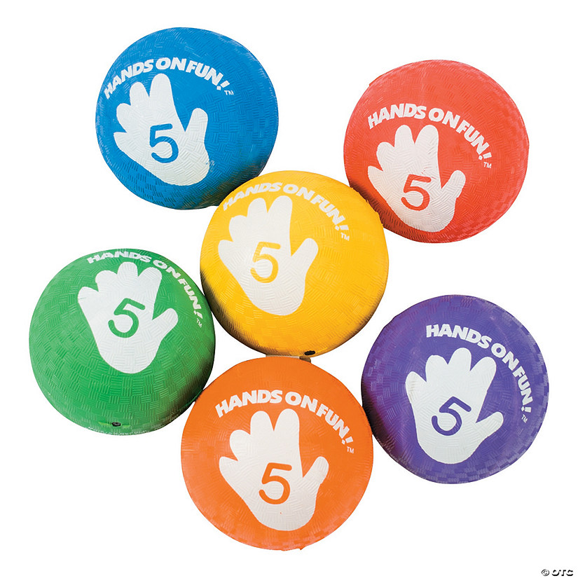 Deluxe Rainbow Playground Ball Assortment