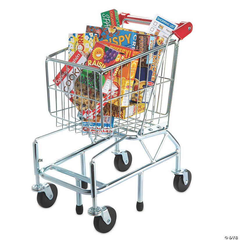 Deluxe Shopping Cart plus FREE Grocery Boxes Image Thumbnail