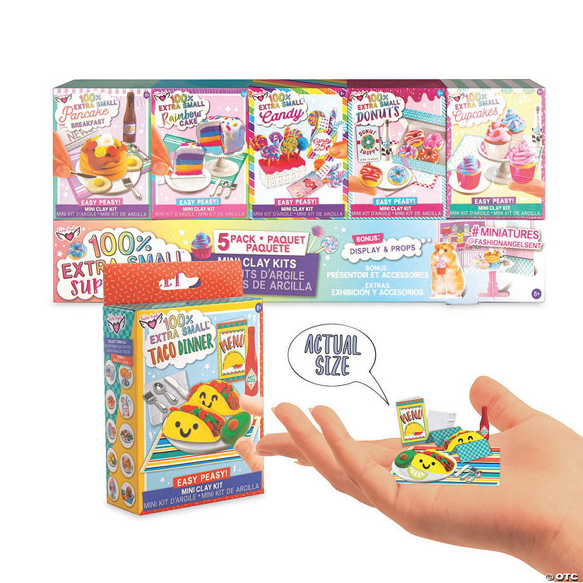 Deluxe Sweets Mini Clay Pack w/ Bonus