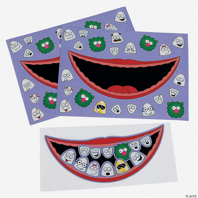 Dental Sticker Sheets