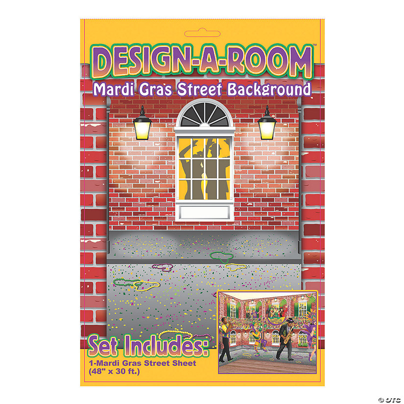 Design-A-Room Mardi Gras Street Backdrop Audio Thumbnail