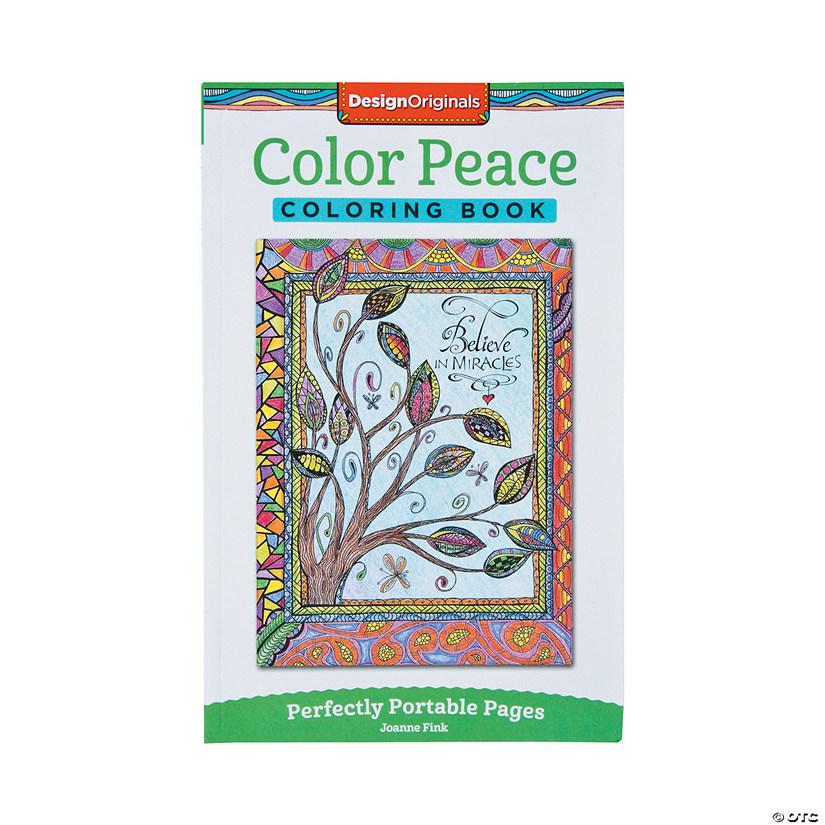 Design Originals Color Peace Adult Coloring Book - Discontinued