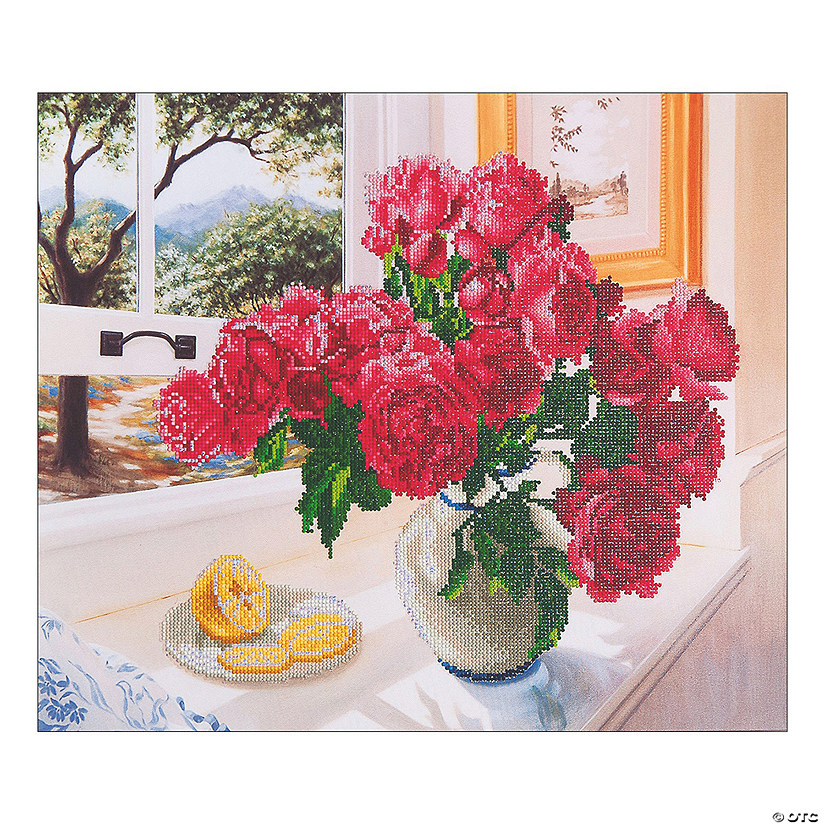 Diamond Dotz-Roses by the Window Image Thumbnail
