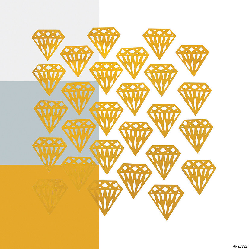 Diamond-Shaped Confetti Audio Thumbnail