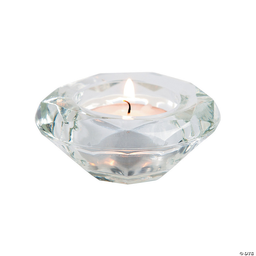 Diamond Tea Light Candle Holders