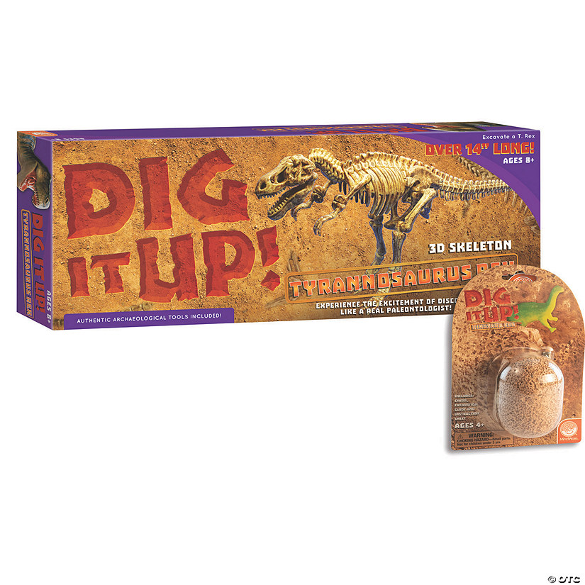 Dig It Up! Dino Model: T-Rex plus FREE Dino Egg Image Thumbnail